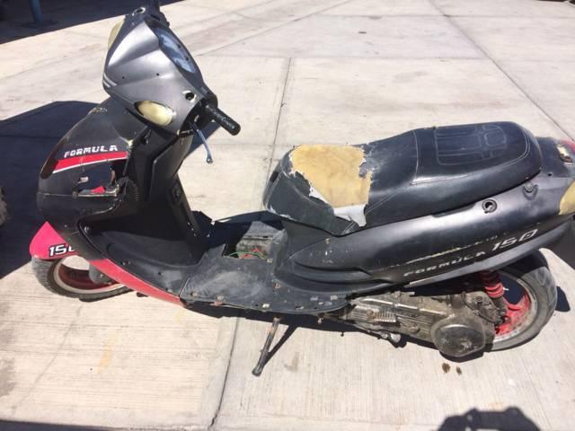 Recupera policía de Apizaco motoneta robada