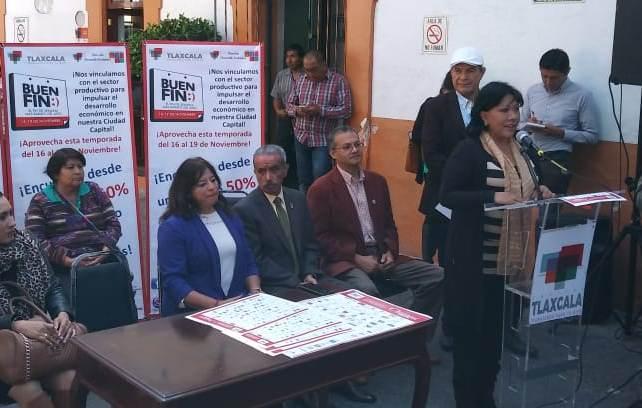 Ayuntamiento de Tlaxcala se suma a El Buen Fin, ofrecerá descuentos