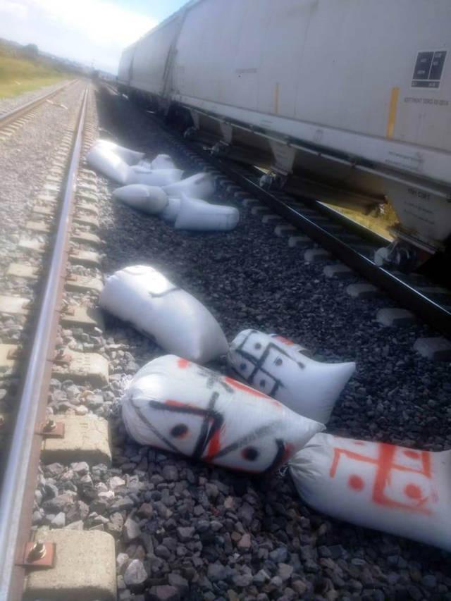 Frustra CES robo a tren en Domingo Arenas