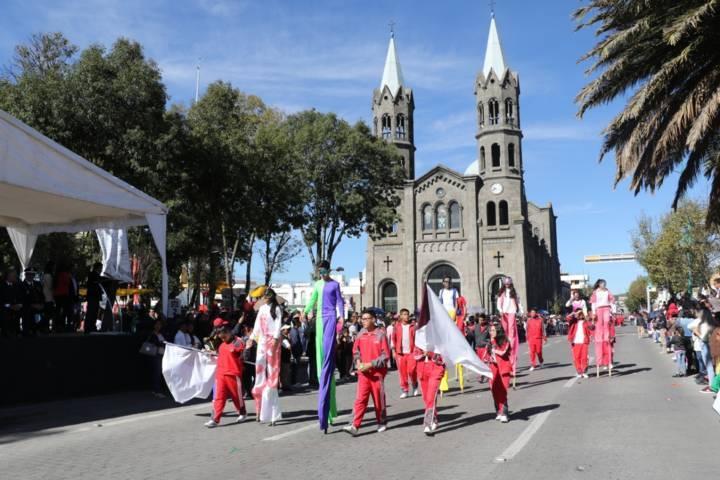 Alcalde de Apizaco encabeza Conmemoración del CVIII Aniversario de la Revolución Mexicana