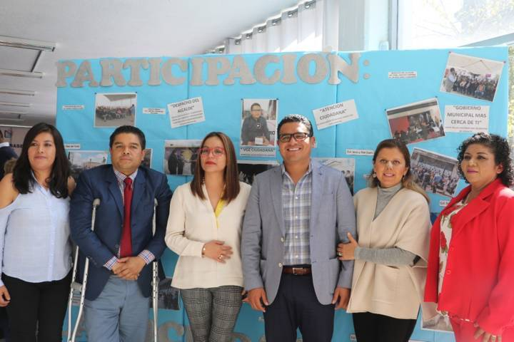Ofrece Hernández Mejía Gobierno Abierto a los apizaquenses