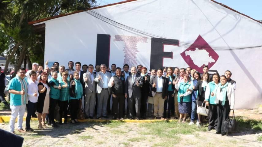 Solicita Nueva Alianza Tlaxcala su registro como partido local