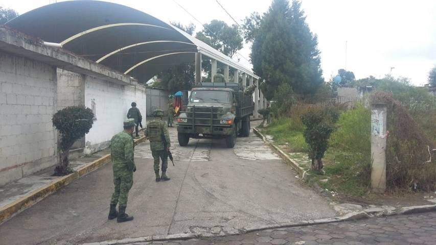 Encabeza Ejercito operativos de seguridad en el municipio