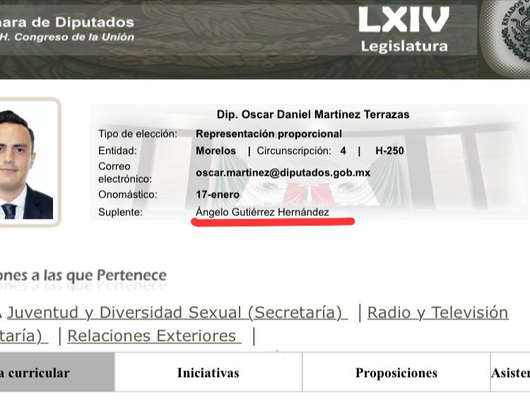 Ángelo Gutíerrez en la ilegalidad; usurpador de profesión