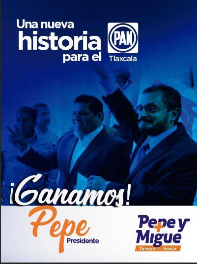 Arrasa Pepe Temoltzin; nuevo presidente del PAN en Tlaxcala