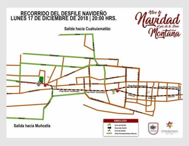 Realizarán Gran Desfile Navideño en San Pedro Tlalcuapan