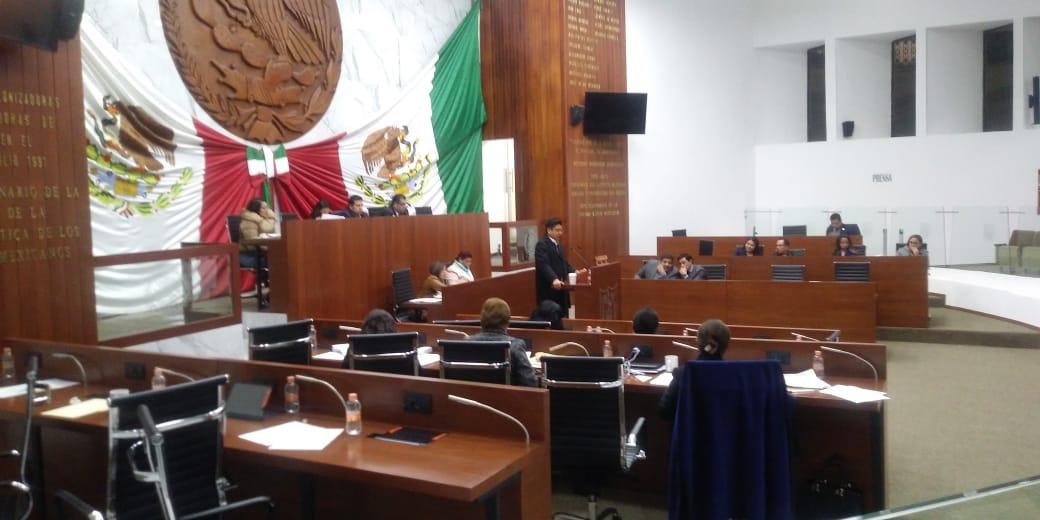 Declaran receso diputados, hoy debe ser nombrada la Mesa Directiva