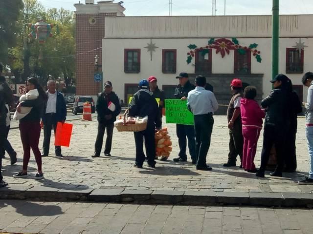 Piden habitantes de Zacatelco anulación de la elección del fiscal
