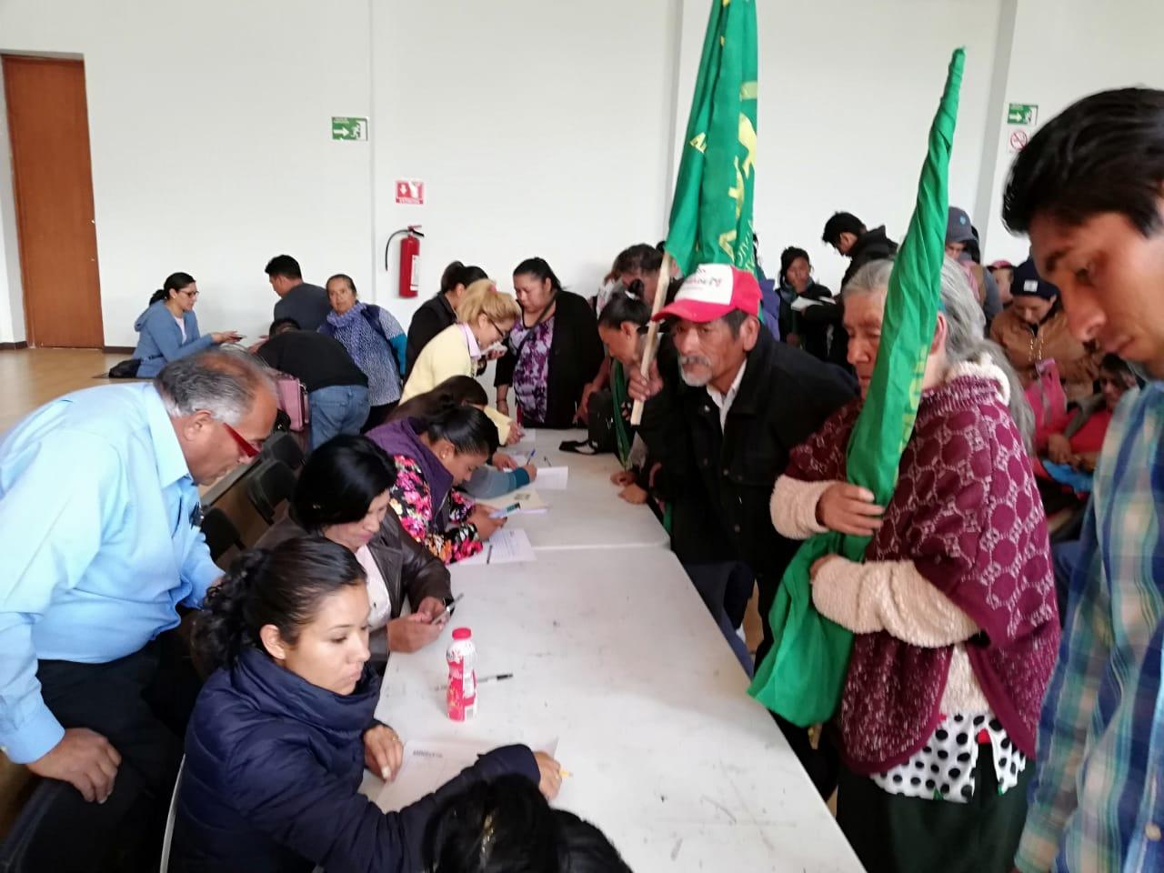 Positivos  y concurrente el Censo para el Bienestar en Tlaxcala