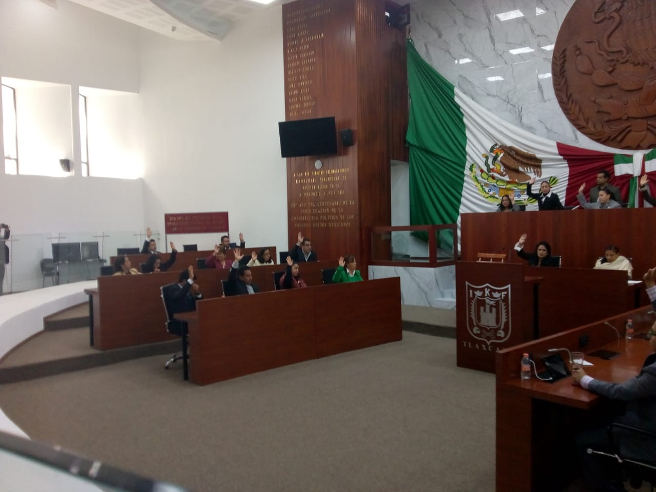 Mayra Vázquez nueva presidenta de la Mesa Directiva del Congreso