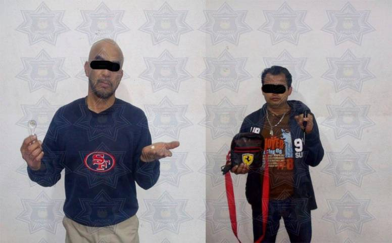 Intensa movilización policiaca en Apizaco, aseguran a sujetos con armas de fuego