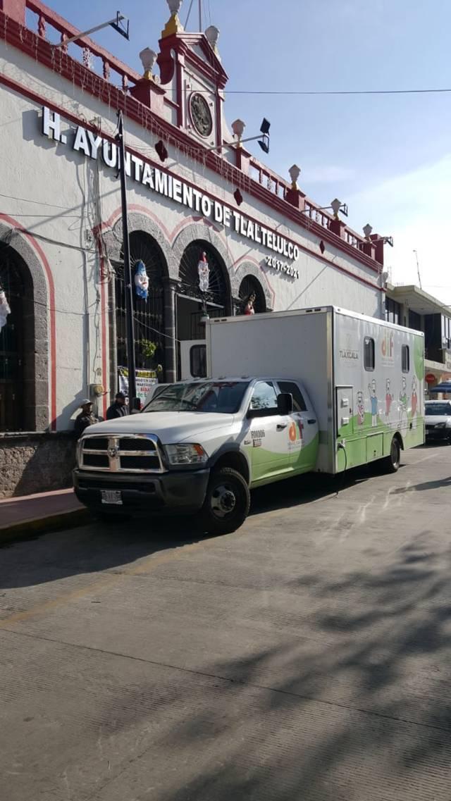 Acercamos a las familias vulnerable de Tlaltelulco servicios médicos gratuitos