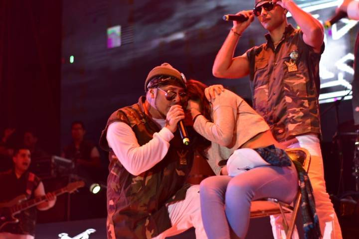 Kumbia King puso a bailar a más de 10 mil personas en Zacatelco