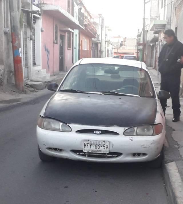 Recupera auto robado policía municipal de Chiautempan
