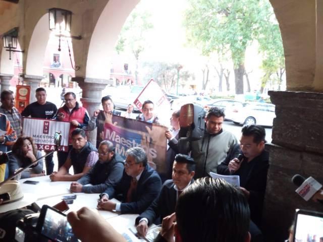 """Maestros pugnan por el """"voto libre"""" para renovar el SNTE"""