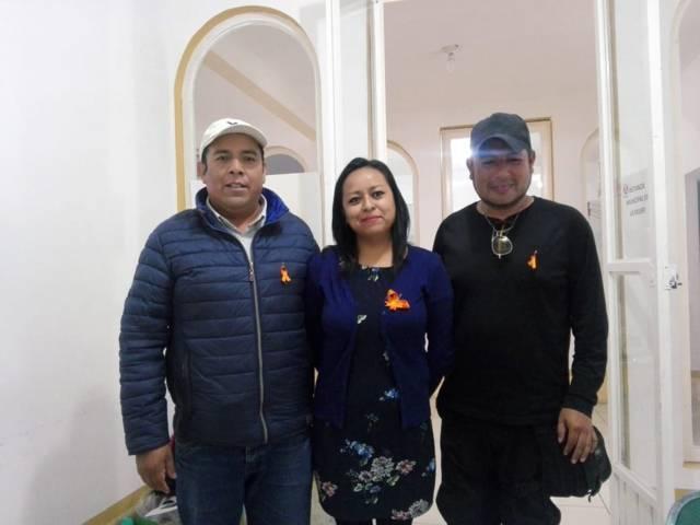 Conmemoran en Ixtenco el Día Naranja contra la violencia de género