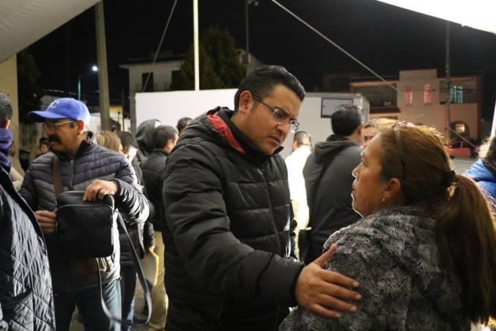 Soluciones inmediatas ofrece edil de Apizaco tras visita en la Colfer