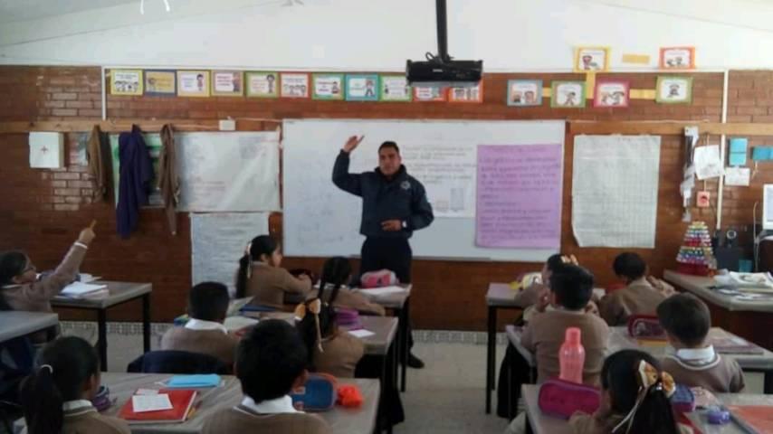 Emprenderán acciones de prevención del delito en escuelas de la capital