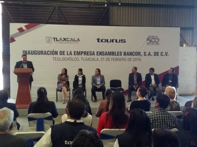 Empresa española instalada en Teolocholco generó 350 empleos