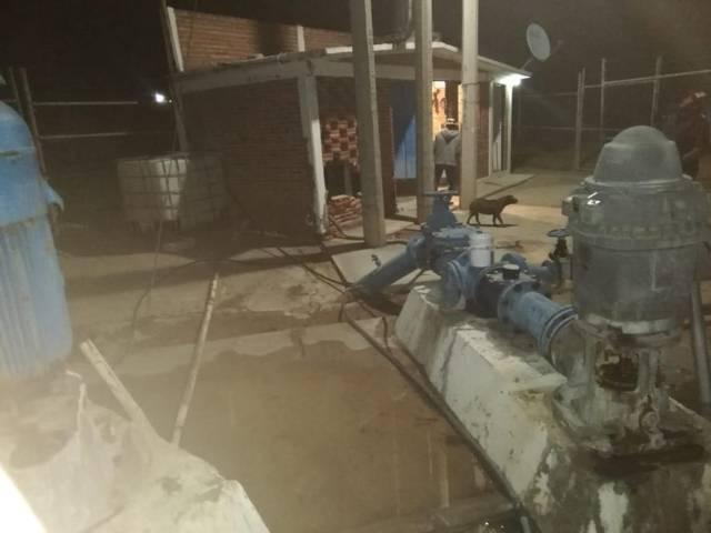 Fallo generalizado de energía afecta abasto de agua en Apizaco