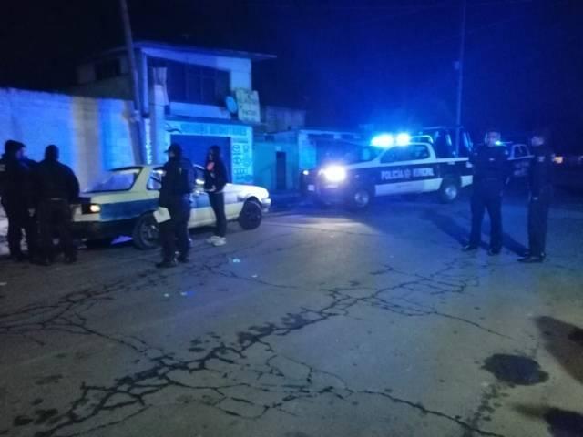Policía municipal recuperan unidad robada y detienen a presunto ladrón