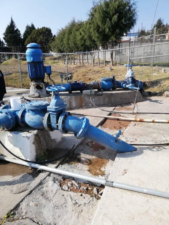Se restablece el servicio de agua potable en Apizaquito y el Parral