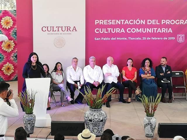 Frausto propone restaurar el tejido social a través del arte