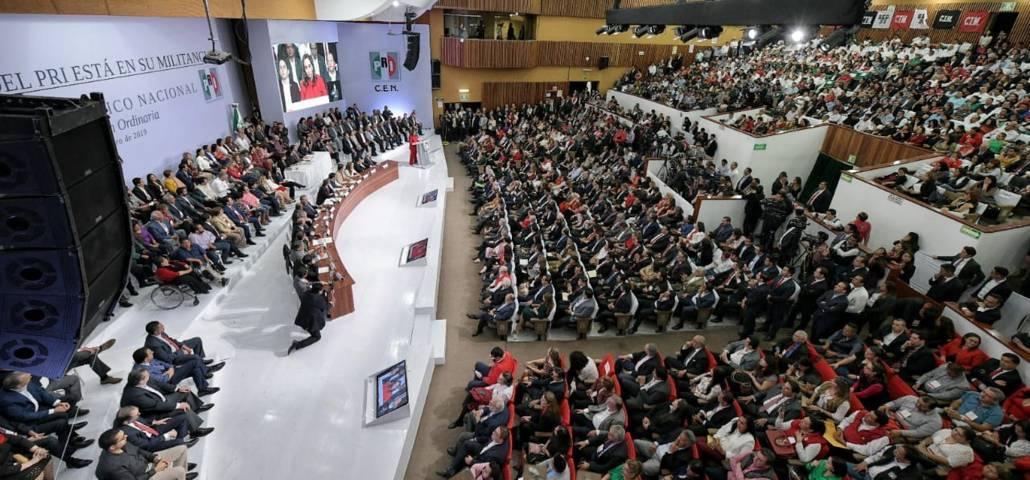 Aprueba Consejo Político elección abierta y directa de próxima dirigencia del PRI