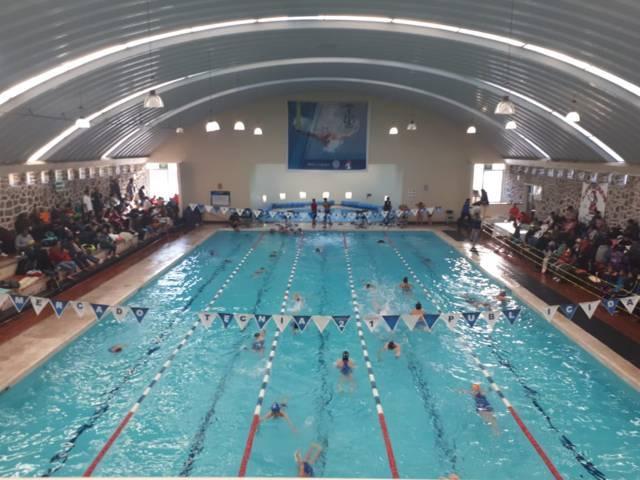 Concluye torneo abierto de natación en el marco de la Feria Apizaco 2019