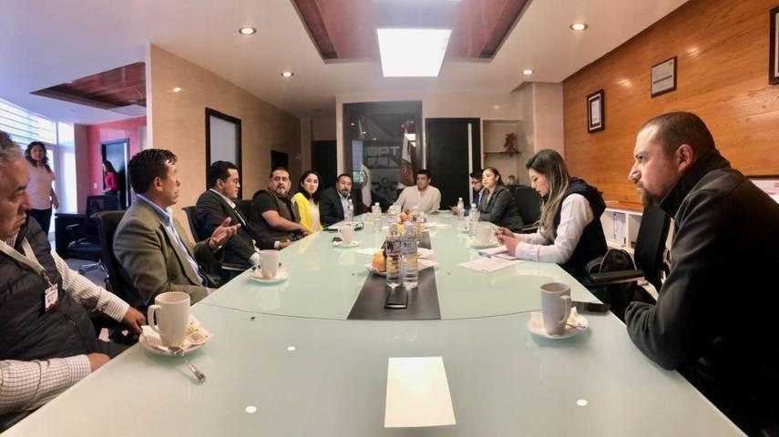 Se reúne rector UPTx con Ayuntamiento de Xicohtzinco