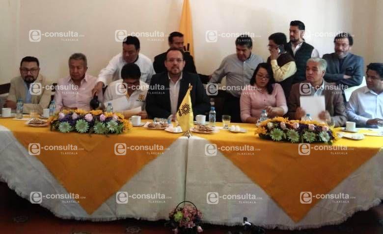 Apunto de desaparecer el PRD en Tlaxcala