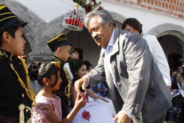 Conmemoran el Natalicio de Benito Juárez en Ixtacuixtla
