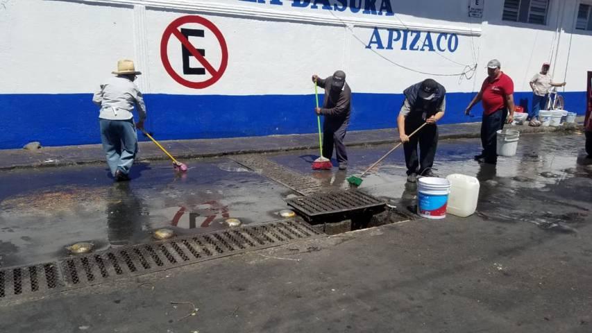 Después de 2 administraciones rehabilitan el Mercado Guadalupe de Apizaco