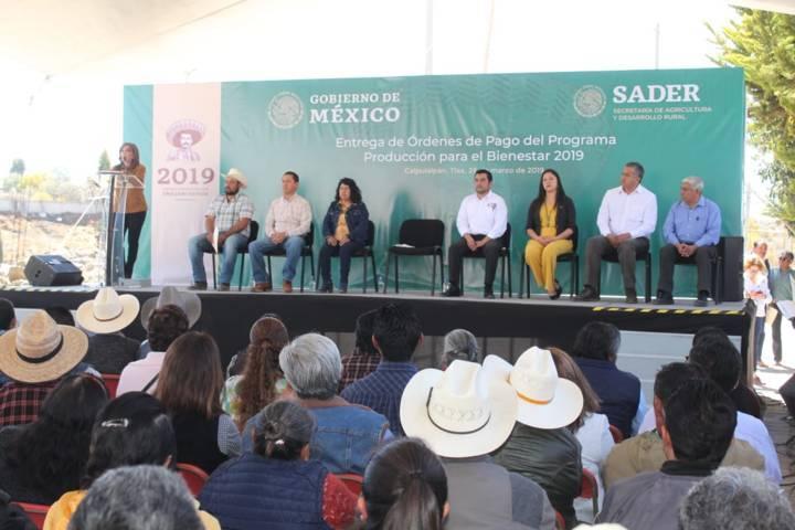 Alcanzaremos autosuficiencia alimentaria en México y Tlaxcala: LCC