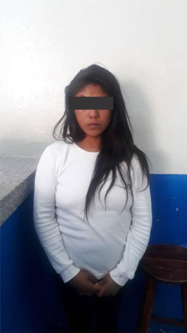 Policías de Chiautempan detienen a fardera