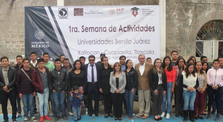 Inician hoy curso de regularización en la UBJ de Xaltocan y Cuapiaxtla