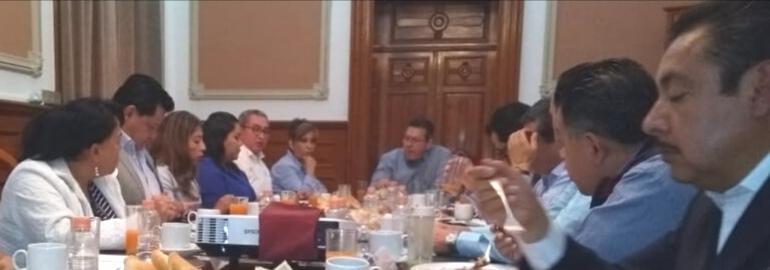 Se reunen gobierno federal y estatal para definir estrategias de coordinación