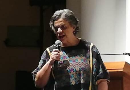 Beatriz Paredes se niega a opinar sobre el gobierno de AMLO
