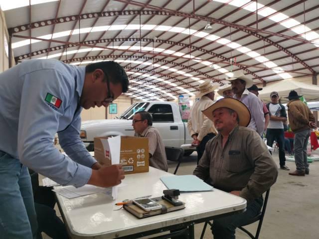 Productores de Tetla recibieron subsidio de Maíz Hibrido