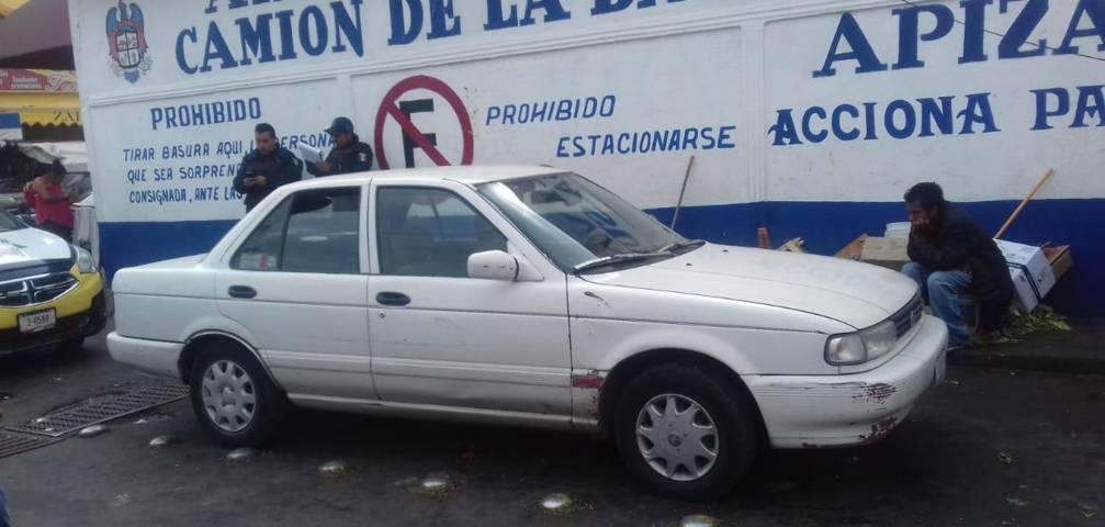 Recupera Policía de Apizaco vehículo con reporte de robo