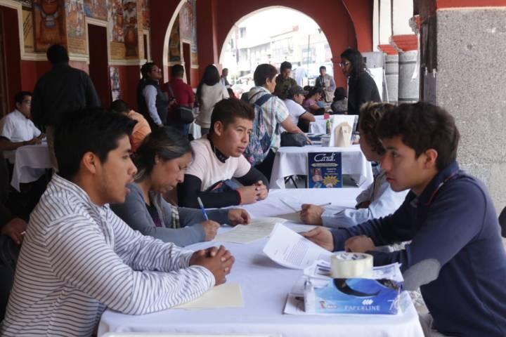 "Realizan jornada del empleo ""Chiautempan 2019"