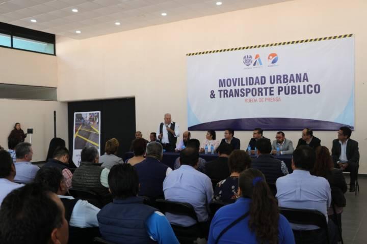 Respalda CANACO y Coordinadora de Trasporte Estatal proyecto en Apizaco