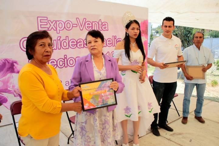Concluye exitosamente  la sexta expo-venta orquídea Belén 2019