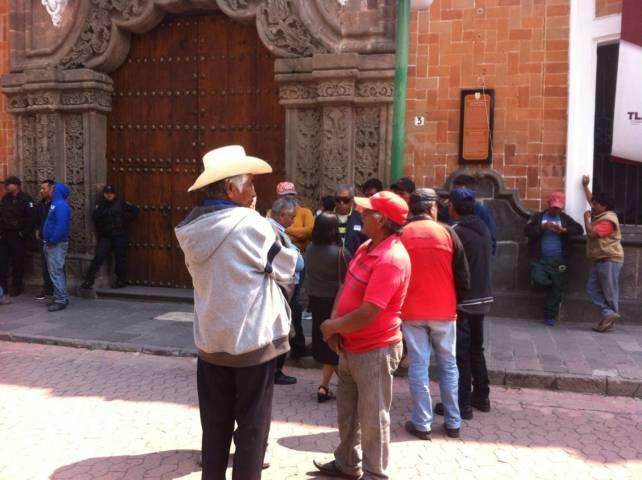 Se le sale de las manos al gobierno la seguridad de Nativitas
