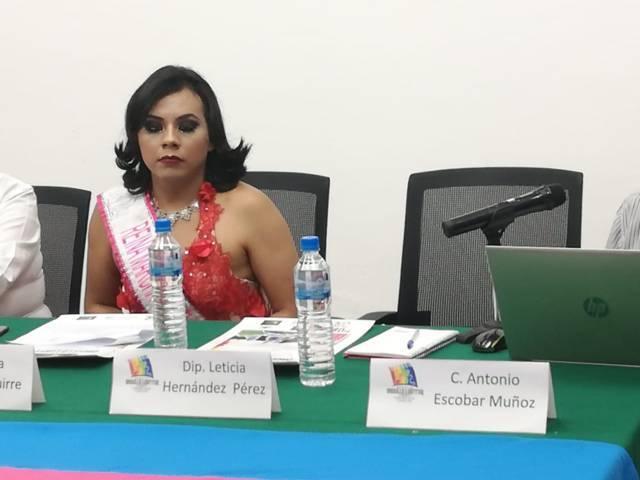 Diputada Leticia Hernández dejó plantada a la comunidad LGBTTTI