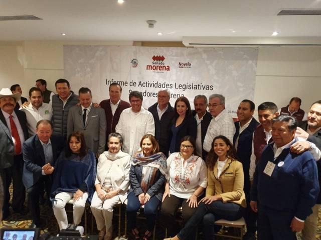 Asiste Joel Molina a informe legislativo de Gerardo Novelo en Baja California