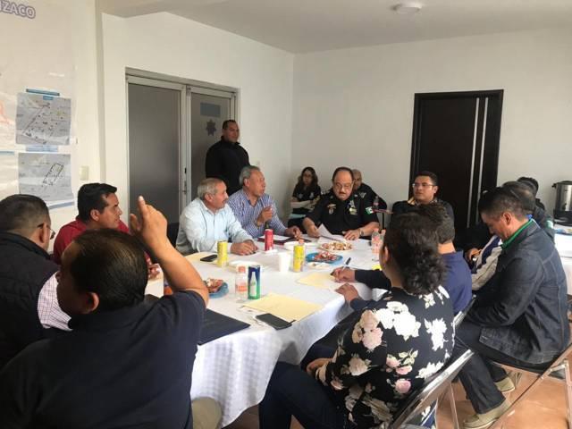 Firme alcalde de Apizaco con fortalecer la seguridad en comunidades