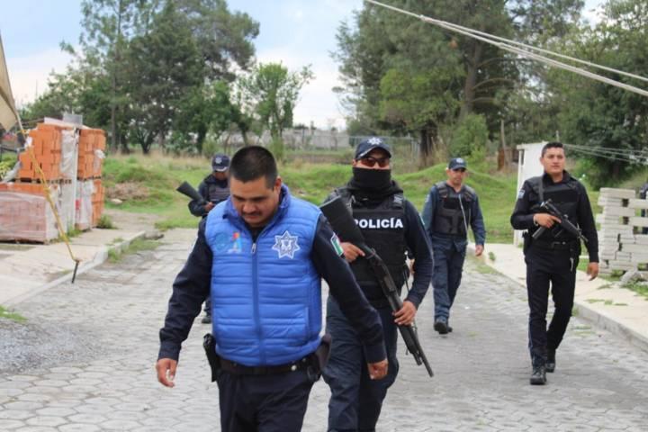 """""""Operativo David"""" se suma a """"Operativo Goliat"""", en Santa María Texcalac de Apizaco"""