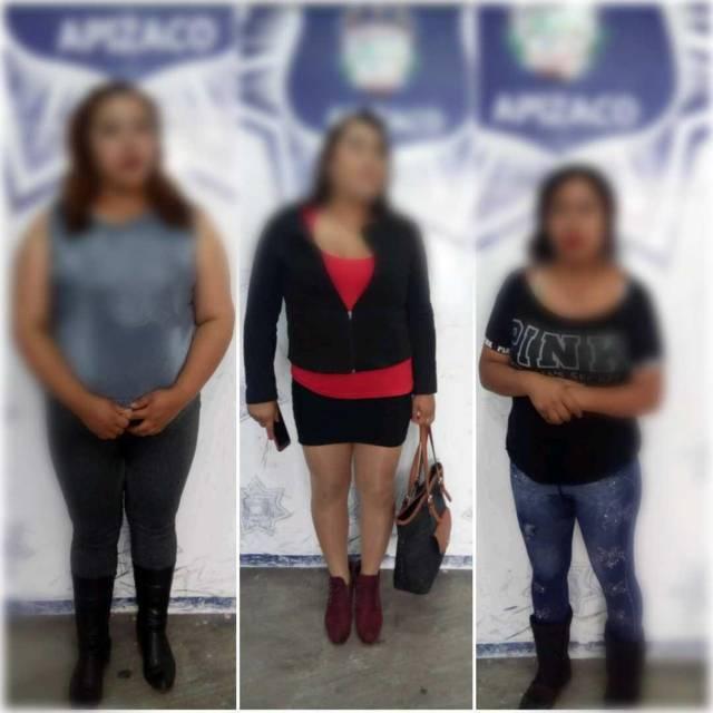 Retiran de las calles a tres mujeres por ofrecer sexoservicio en Apizaco
