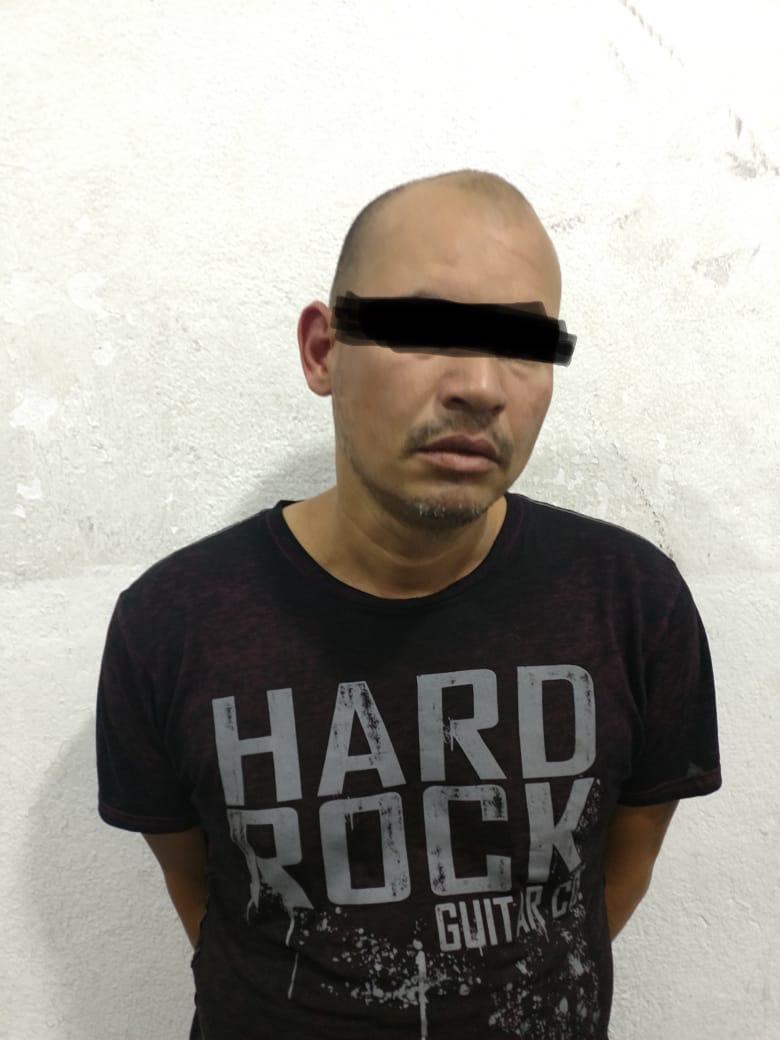 Captura Policía de Apizaco a sujeto por robo a OXXO